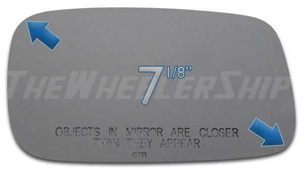New Mirror Glass Replacements For Saab 9-5 900 9-3 1994-2002 Right Passenger Sde