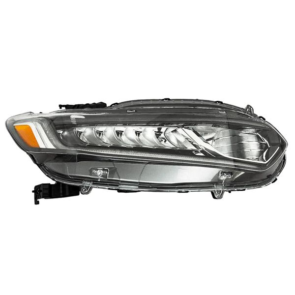 New Replacement Headlight for Honda Accord Passenger Side 2018 2019 2020 2021 HO2503187