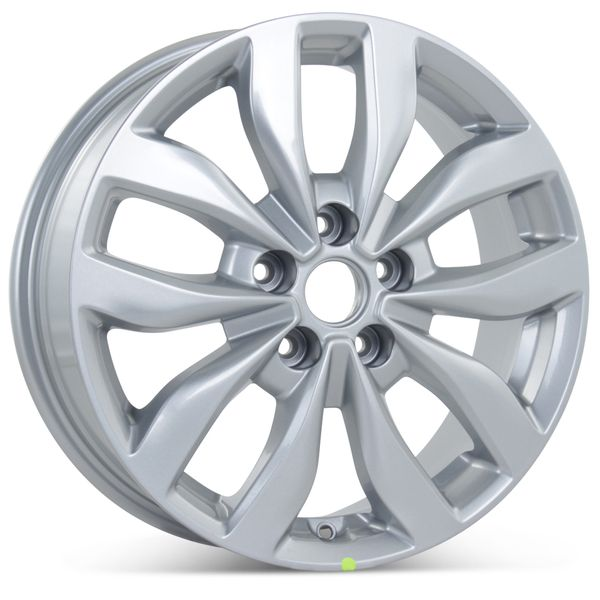 """New 17"""" x 6.5"""" Alloy Replacement Wheel for Kia Optima 2013-2015 Silver Rim 74690"""