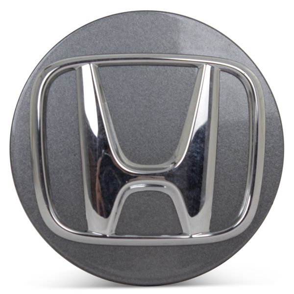 OE Genuine Honda Accord 2018 2019 2020 Light Charcoal Center Cap w/ Chrome Logo CAP5143