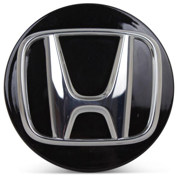OE Genuine Honda Accord 2018 2019 2020 Black Center Cap with Chrome Logo CAP7766