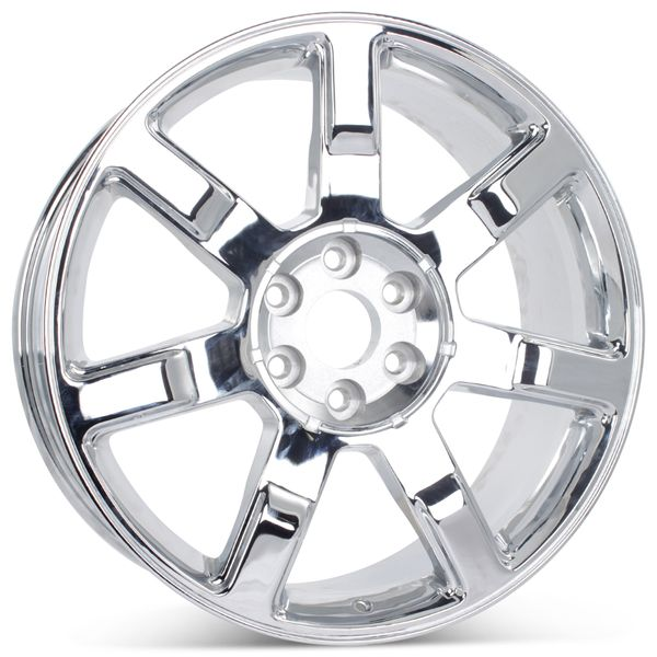"22"" Wheel forCadillac Chrome Escalade ESV EXT 2007-2014 Rim 5309 Open Box"