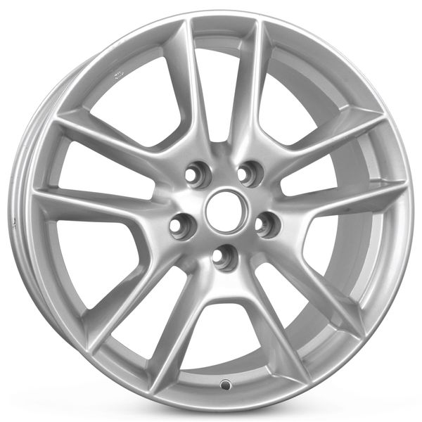 """18"""" x 8"""" Replacement Alloy Wheel for Nissan Maxima 2009 2010 2011 Rim 62511 Open Box"""