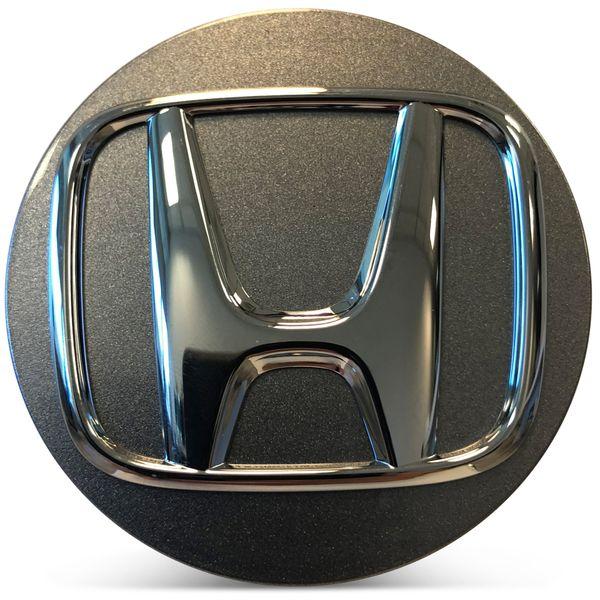 OE Genuine Honda Accord 2018 2019 2020 Silver Center Cap with Chrome Logo CAP1559