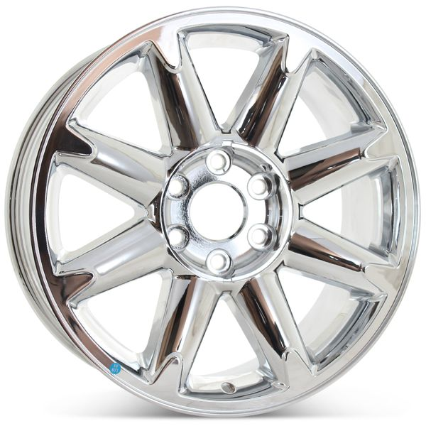 "New 20"" Wheel for GMC Sierra Denali Yukon XL 2007 2008 2009 2010 2011 2012 2013 2014 Rim Chrome 5304"