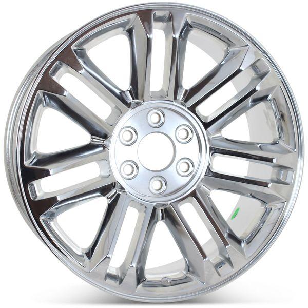 """22"""" x 9"""" Replacement Rim for 2011-2014 Cadillac Escalade Platinum Wheels 5358"""