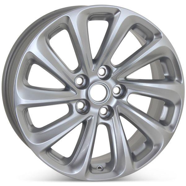 "Brand New 18"" x 8"" Buick LaCrosse 2014 2015 2016 Factory OEM Wheel Hyper Silver Rim 4114"