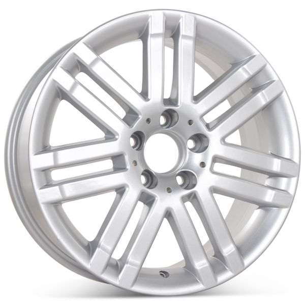 """17"""" x 7.5"""" Replacement Front Wheel for Mercedes C300 2008-2009 Rim 65522 Open Box"""