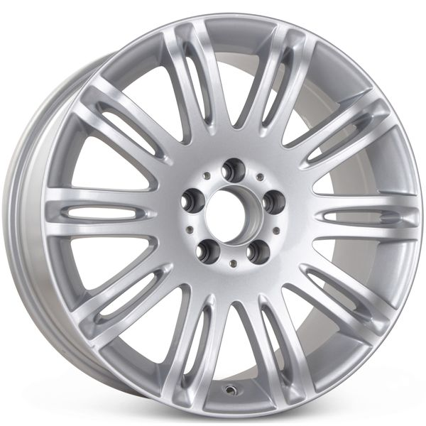 "18"" x 8.5"" Replacement Wheel for Mercedes E350 E550 2007 2008 2009 Rim 65432 Silver Open Box"