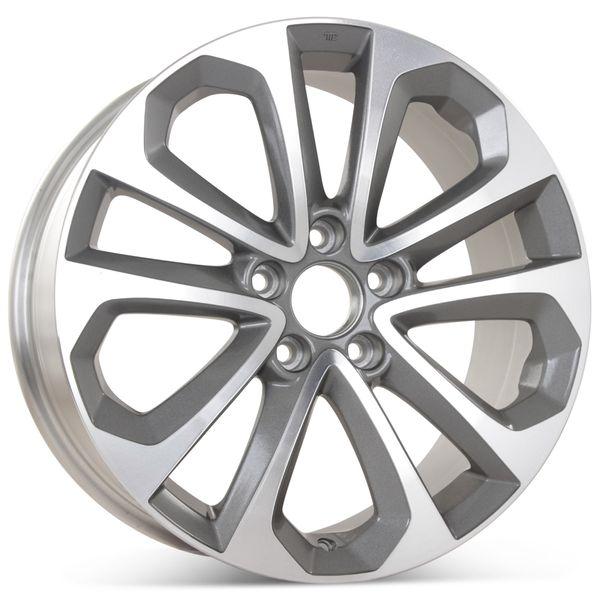 "18"" x 8"" Replacement Wheel for Honda Accord 2013-2015 Rim 64048 Open Box"