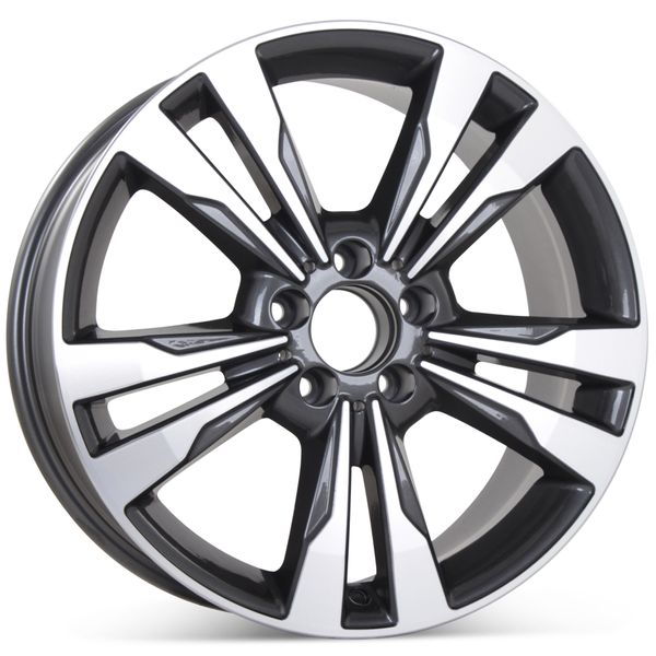 """New 18"""" x 8.5"""" Alloy Replacement Wheel for Mercedes E350 2014 2015 2016 Rim 85397"""