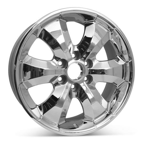 "New 20"" x 8.5"" Chevrolet Silverado 1500 2006-2010 Chrome Factory OEM Wheel Rim 5261"