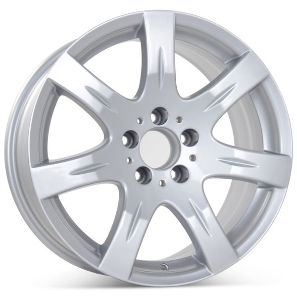 """New 17"""" x 8.5"""" Replacement Wheel for Mercedes E350 E550 2007 2008 Rim 65511"""
