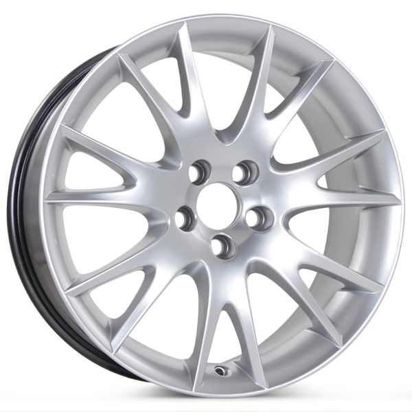 """New 18"""" x 8"""" Replacement Wheel for Volvo C70 Mirzam 2006 2007 2008 2009 2010 Rim 70320"""