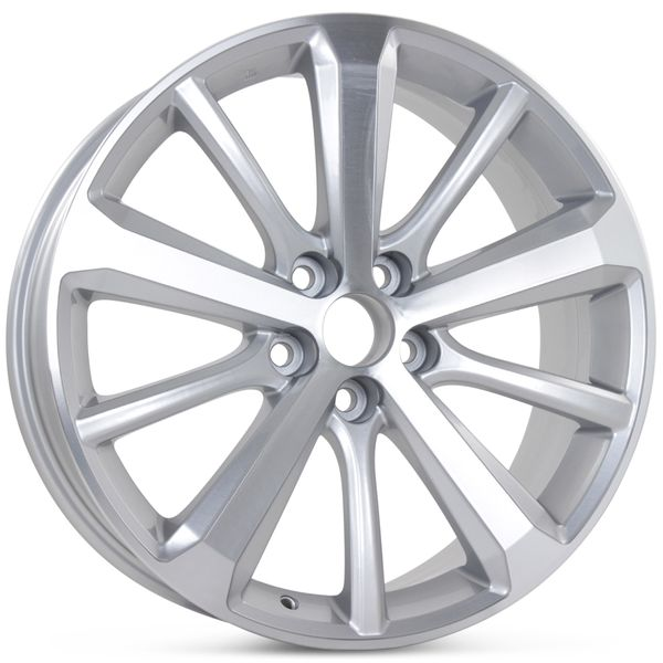 "New 19"" x 7.5"" Replacement Wheel for Toyota Highlander 2008 2009 2010 2011 2012 2013 Rim 69548"