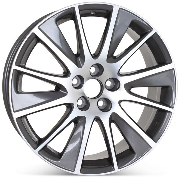 """19"""" x 7.5"""" Replacement Wheel for Toyota Highlander 2017 2018 Rim 97687 75215 Open Box"""