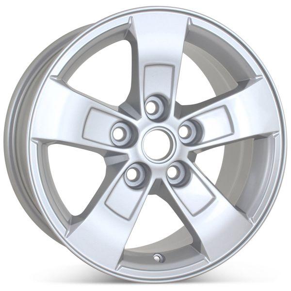 "New 16"" x 7.5"" Alloy Replacement Wheel for Chevrolet Malibu 2013 2014 2015 2016 Rim 5558"