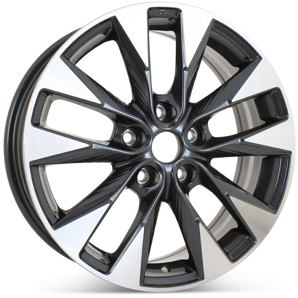 """New 17"""" x 6.5"""" Alloy Replacement Wheel for Nissan Sentra 2016-2019 Rim 62730"""