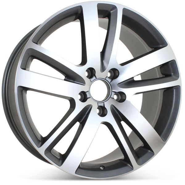 "20"" x 9"" Alloy Replacement Wheel for Audi Q7 2010 2011 2012 2013 2014 2015 Rim 58862 Open Box"