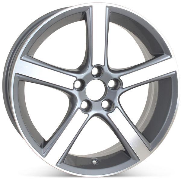 "18"" x 7.5"" Replacement Wheel for Volvo C30 C70  V50 S40 Midir 2009 2010 2011 Rim 70339 Open Box"