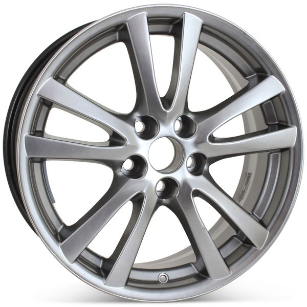"""18"""" x 8"""" Replacement Wheel for Lexus IS250 IS350 2006-2008 Rim 74189 HyperSilver Open Box"""
