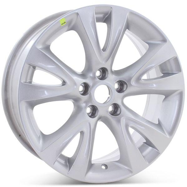 "Brand New 18"" x 7.5"" Ford Taurus 2010 2011 2012 Factory OEM Wheel Silver Rim 3817"