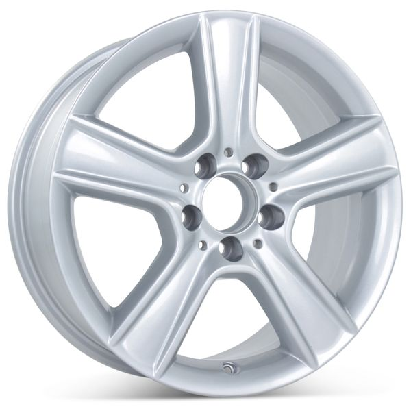 """17"""" x 8.5"""" Alloy Replacement Rear Wheel for 2010-2011 Mercedes C300/C350 Wheels 85100"""