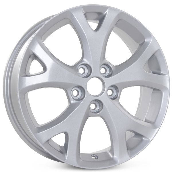 """New 17"""" x 6.5"""" Alloy Replacement Wheel for Mazda 3 2007 2008 2009 Rim 64895"""