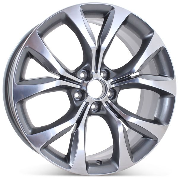 "New 19"" x 8"" Alloy Replacement Wheel for Chrysler 200 2015 2016 2017 Rim 2515"