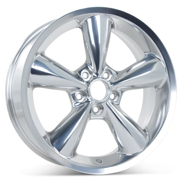"18"" x 8.5"" Replacement Wheel for 2006-2009 Ford Mustang Rims 3648 Polished"