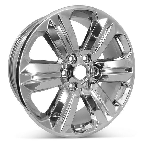"New 20"" x 8.5"" 6-spoke OEM wheel for the 2018- 2020 Ford F-150 Rim Chrome 10171"