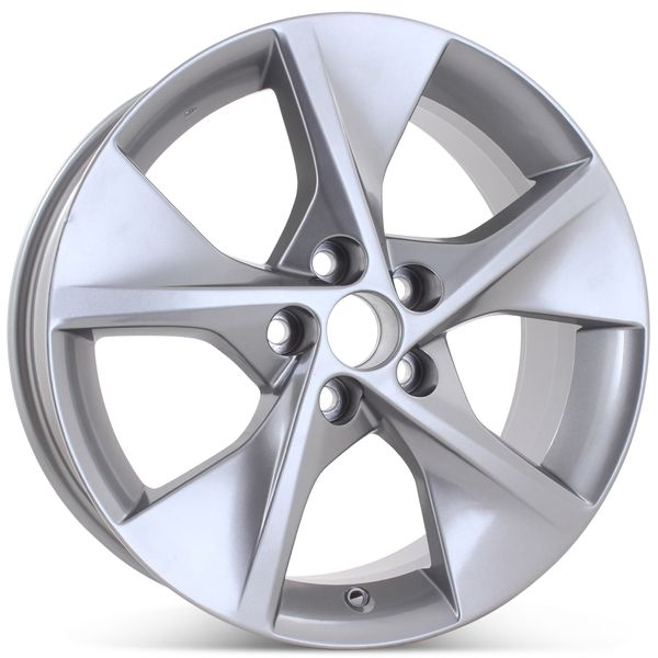 """18"""" x 7.5"""" Replacement Wheel for Toyota Camry 2012  2013 2014 Charcoal Rim 69605 Open Box"""