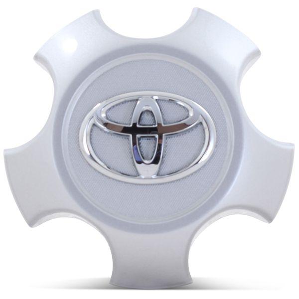OE Genuine Toyota Rav 4 2009-2014 (4260B-0R020) Star Center Cap Silver CAP2866
