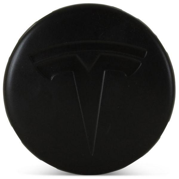 OE Genuine Tesla Center Cap W/ Tesla Logo Black CAP6666