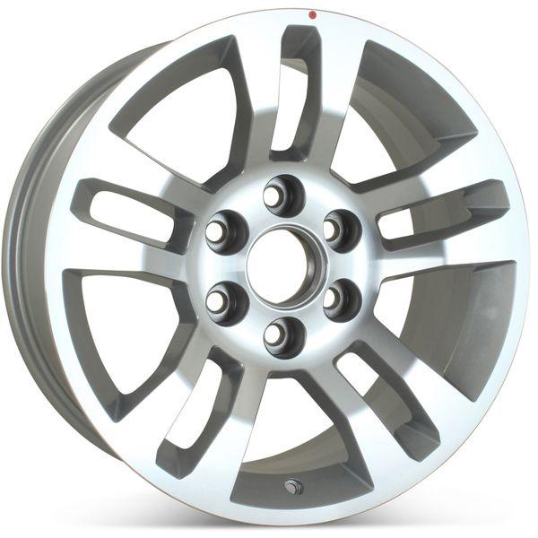 "New 18"" Alloy Replacement Wheel for Chevrolet Tahoe Suburban Silverado 1500 2015 2016 2017 2018 2019 2020 Rim 5646"