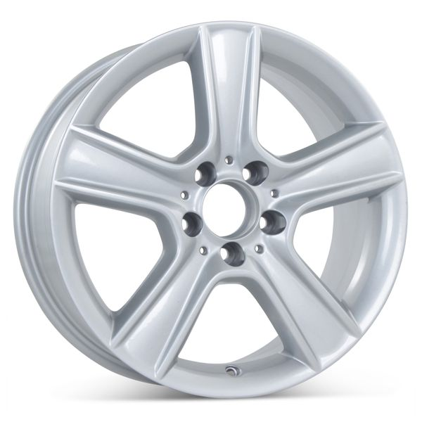 "17"" x 7.5"" Replacement Front Wheel for Mercedes C300 C350 2010-2011 Rim 85099 Open Box"