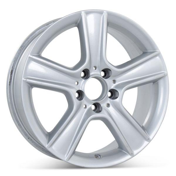 "17"" x 8.5"" Alloy Replacement Rear Wheel for Mercedes C300 C350 2010 2011 Rim 85100 Open Box"