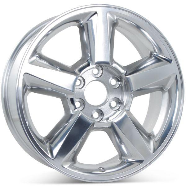 "New 20"" x 8.5"" Replacement Wheel for Chevy Avalanche Silverado Suburban Tahoe Rim 5308"