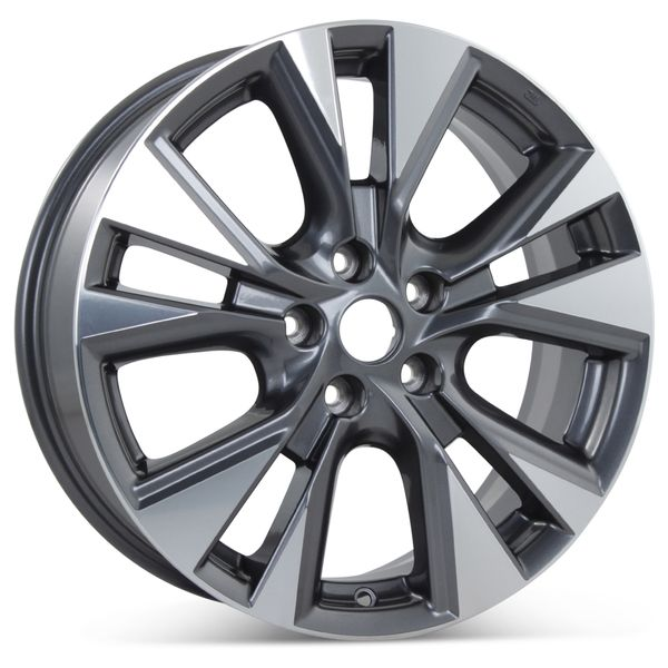 """New 18"""" x 7.5"""" Alloy Replacement Wheel for Nissan Murano  2015 2016 2017 2018 Rim 62706"""