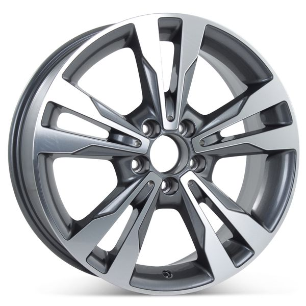 "New 18"" x 7.5"" Alloy Replacement Wheel for Mercedes C300 C350 2015 2016 2017 2018 Rim 85370"