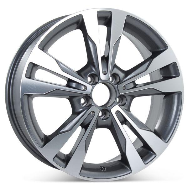 "18"" x 8.5"" Alloy Replacement Rear Wheel for 2015-2018 Mercedes C300/C350 Rim 85371"
