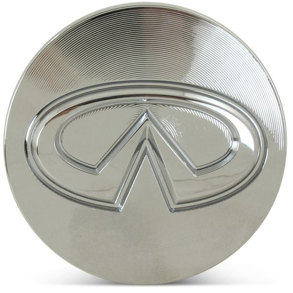 OE Genuine Infiniti G35 Q40 Q45 Q50 Q60 Q70 QX50 QX60 Silver Chrome Center Cap CAP0116