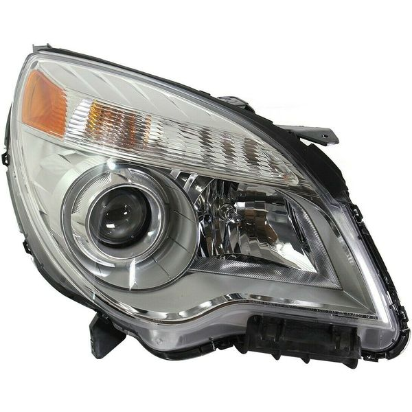 New Replacement Headlight for Chevrolet Equinox Passenger Side 2010 - 2015 GM2503352