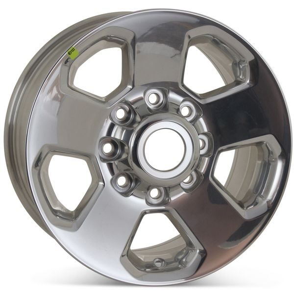 "17"" x 8"" Dodge Ram 2500 3500 2014 2015 2016 2017 Factory OEM Wheel Polished Rim 2498 Open Box"