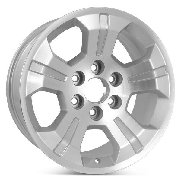 "New 18"" x 8.5"" Replacement Wheel for Chevrolet Silverado GMC Sierra 2014 2015 2016 2017 2018 2019 Rim 5647"