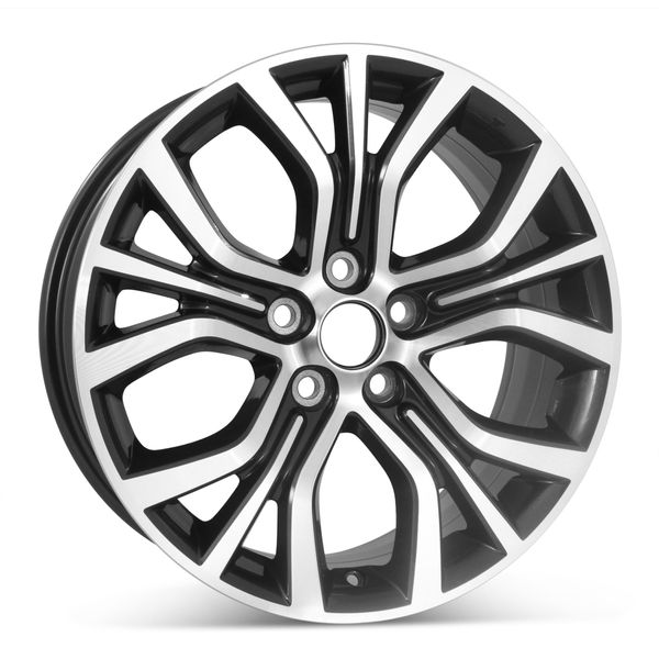 """New 18"""" x 7"""" Replacement Wheel for Mitsubishi Outlander 2016 2017 2018 2019 Rim 97498"""