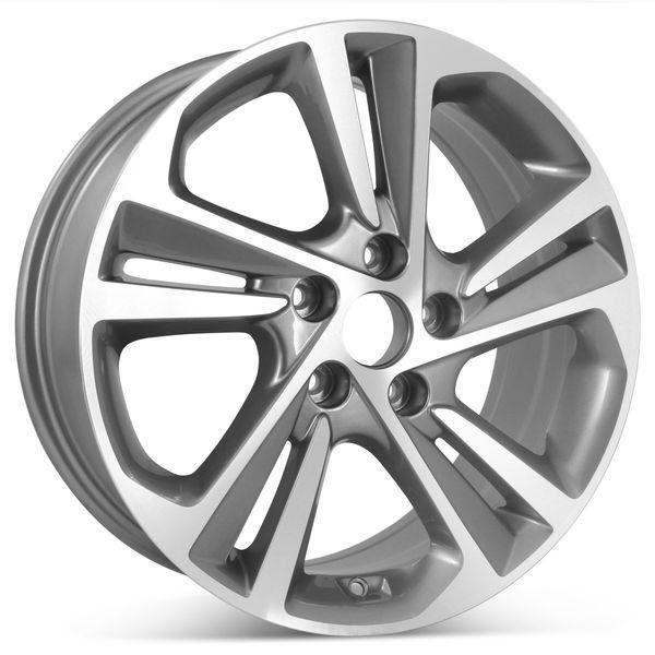 "New 17"" Alloy Replacement Wheel for Hyundai Elantra 2017 2018 Rim 70903"