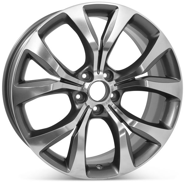 """19"""" x 8"""" Alloy Replacement Wheel for Chrysler 200 2015 2016 2017 Rim 2515 Open Box"""
