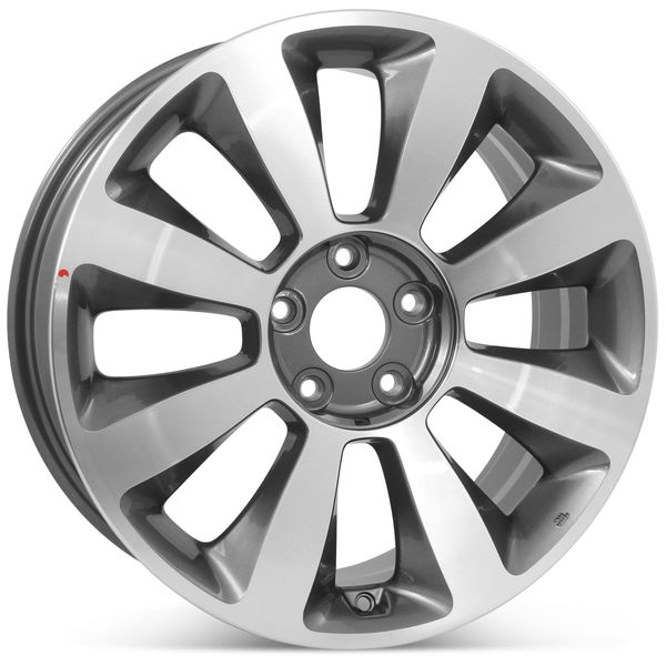 "18"" x 7.5"" Alloy Replacement Wheel for Kia Optima 2011 2012 Rim 74653 Open Box"
