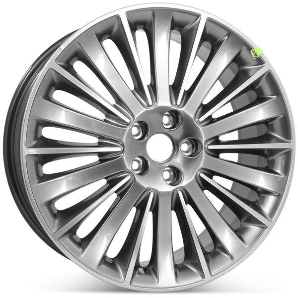 "19"" x 8"" Lincoln MKZ 2013 2014 2015 2016 Factory OEM Wheel Silver Rim 3955 Open Box"